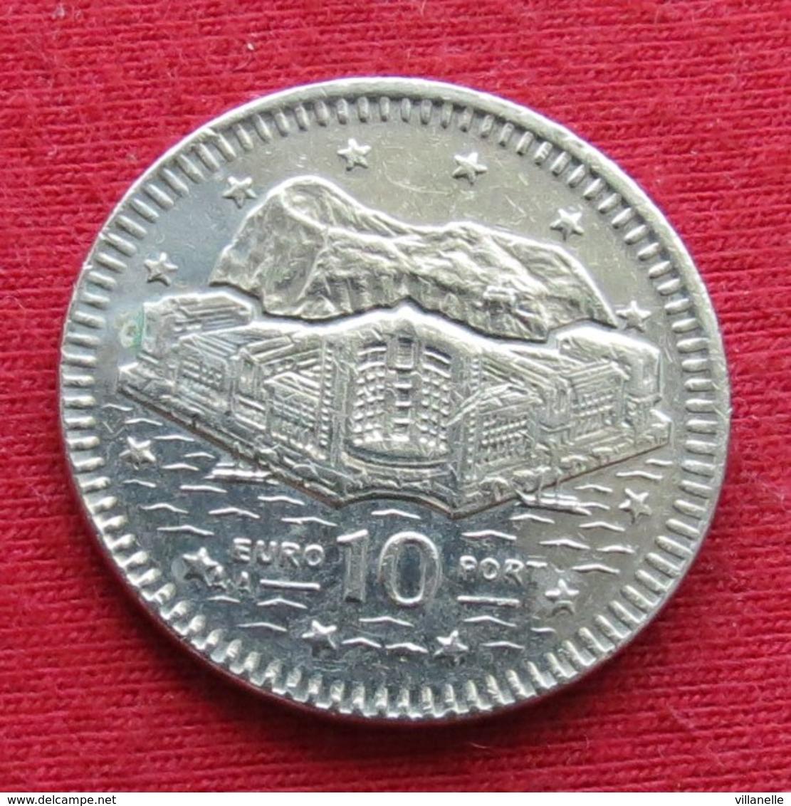 Gibraltar 10 Pence 1997 KM# 112 Gibilterra - Gibraltar