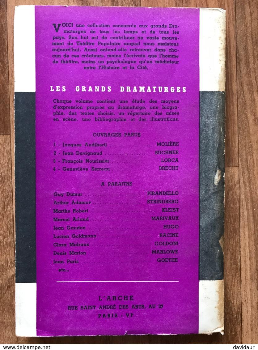 Federico Garcia Lorca Dramaturge - François Nourissier - Poésie