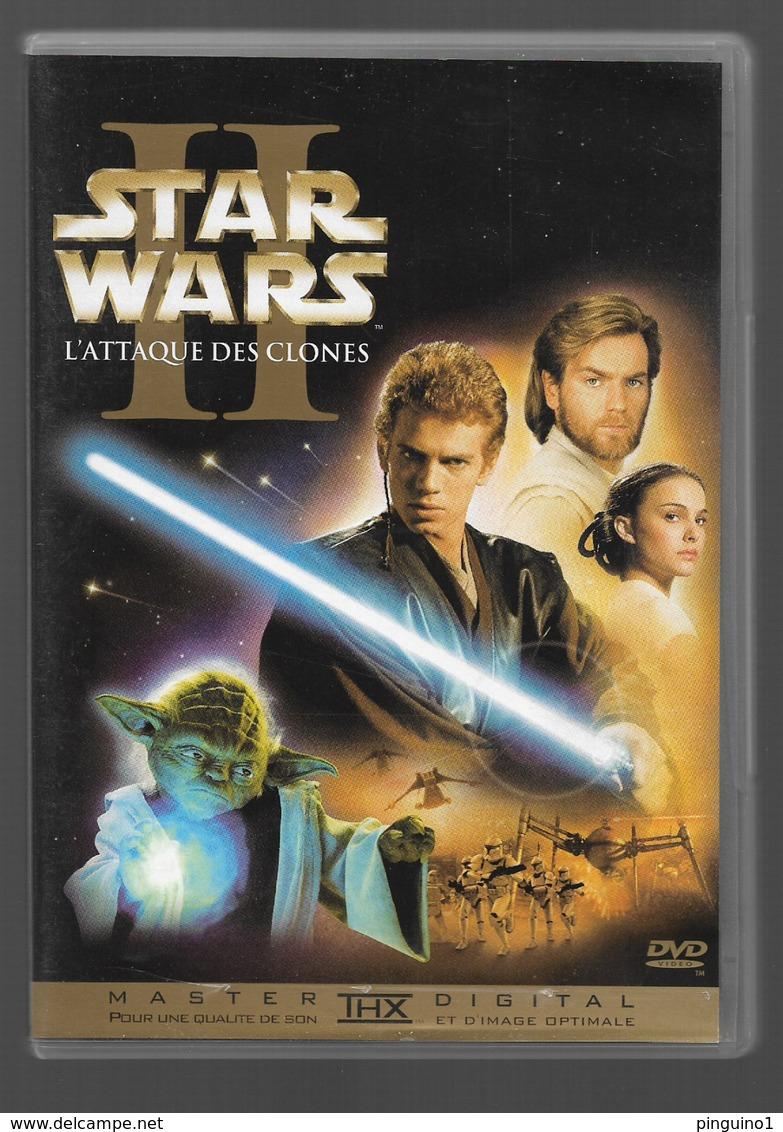 Star Wars II L'attaque Des Clones Dvd - Science-Fiction & Fantasy