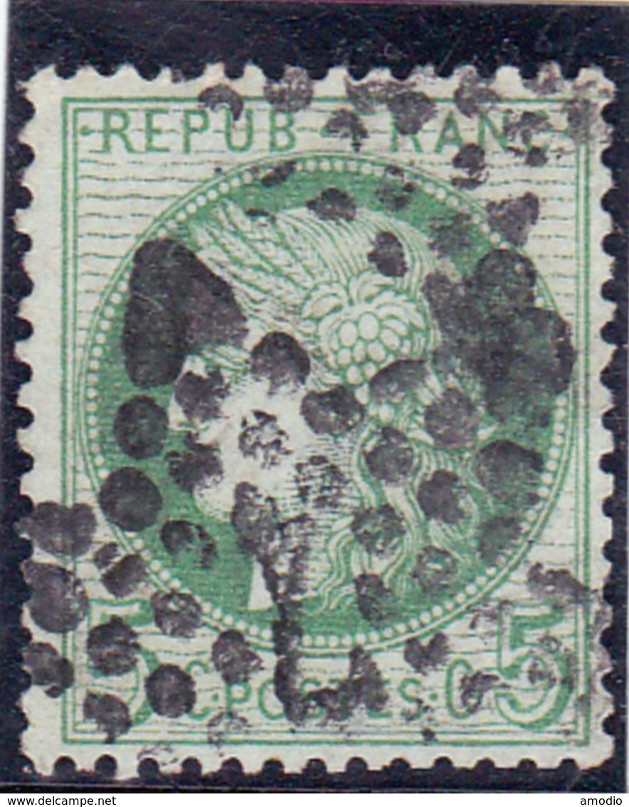 France Etoile 7 / YT 53a - 1862 Napoleon III