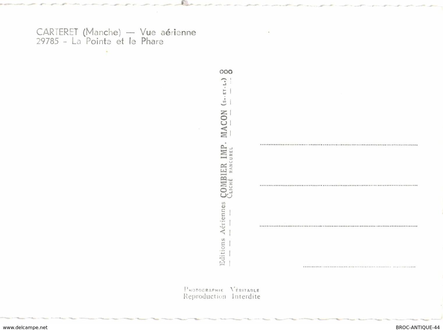 CPM* N°2775 - LOT DE 5 CARTES DE CARTERET - ABIMEES - Carteret