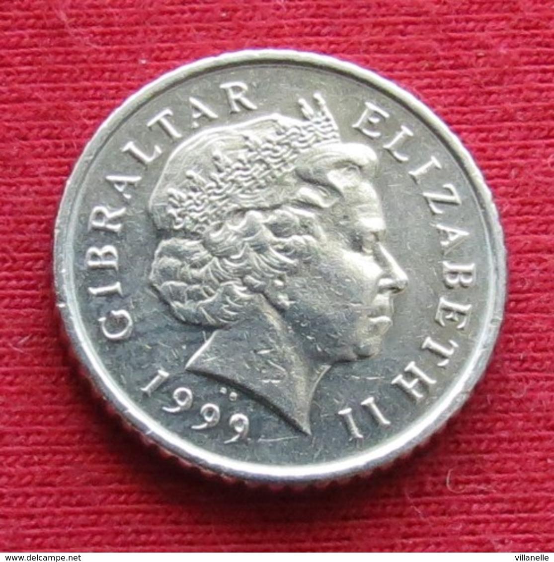 Gibraltar 5 Pence 1999 AA KM# 775 Gibilterra - Gibraltar