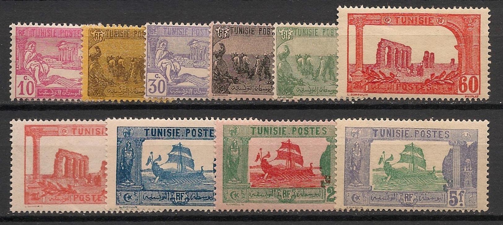 Tunisie - 1923-26 - N°Yv. 100 à 109 - Série Complète - Neuf  Luxe ** / MNH / Postfrisch - Ungebraucht