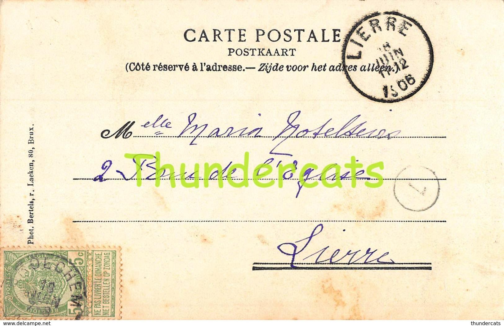CPA GEEL GHEEL INTERIEUR DE L'EGLISE SAINTE DYMPHNE - Geel