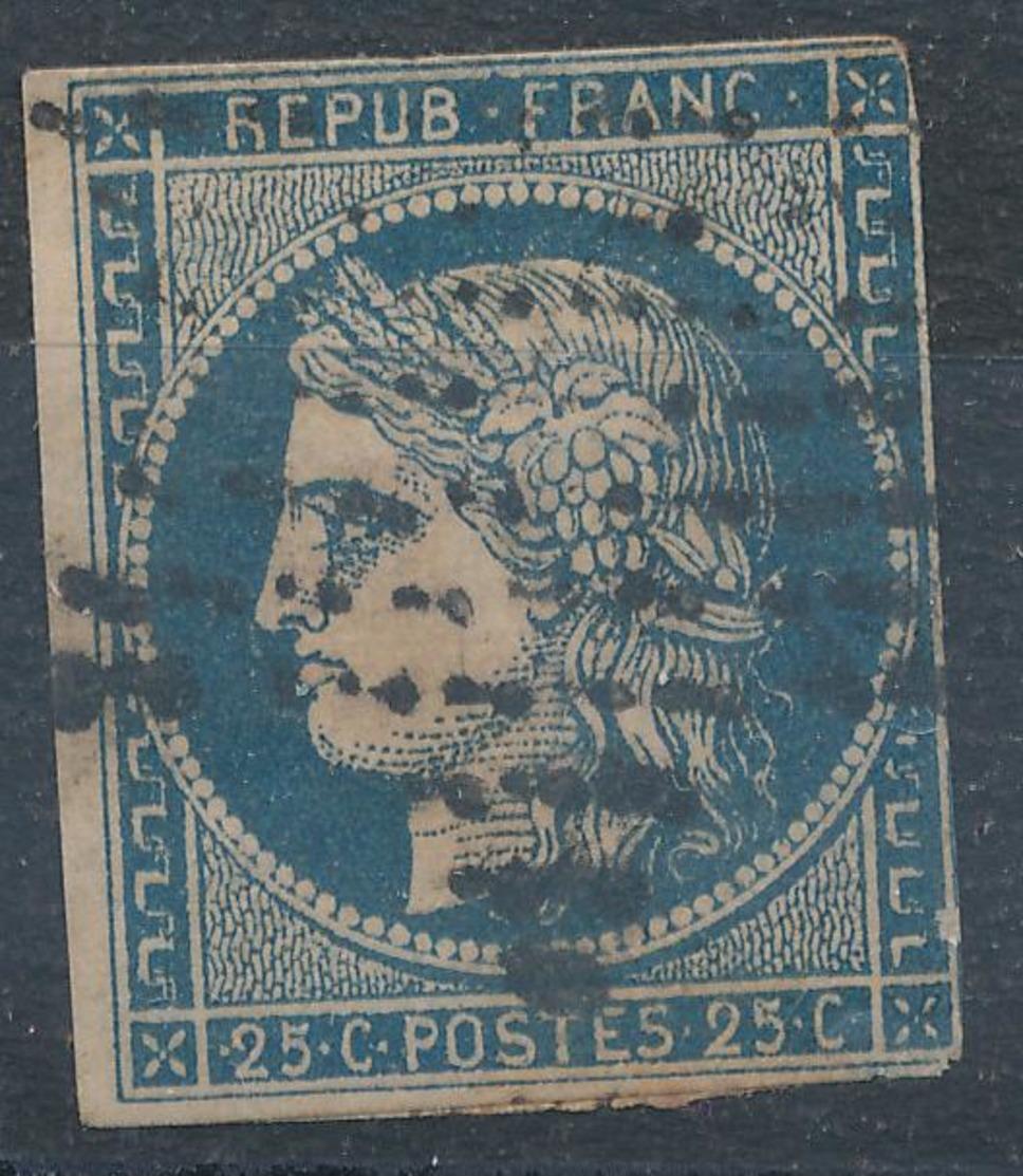 N°4 NUANCE ET OBLITÉRATION - 1849-1850 Ceres