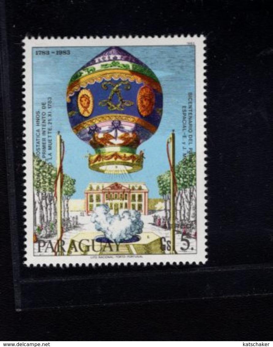 739759169  POSTFRIS MINT NEVER HINGED POSTFRISCH EINWANDFREI  SCOTT C529 BALLOONS - Paraguay