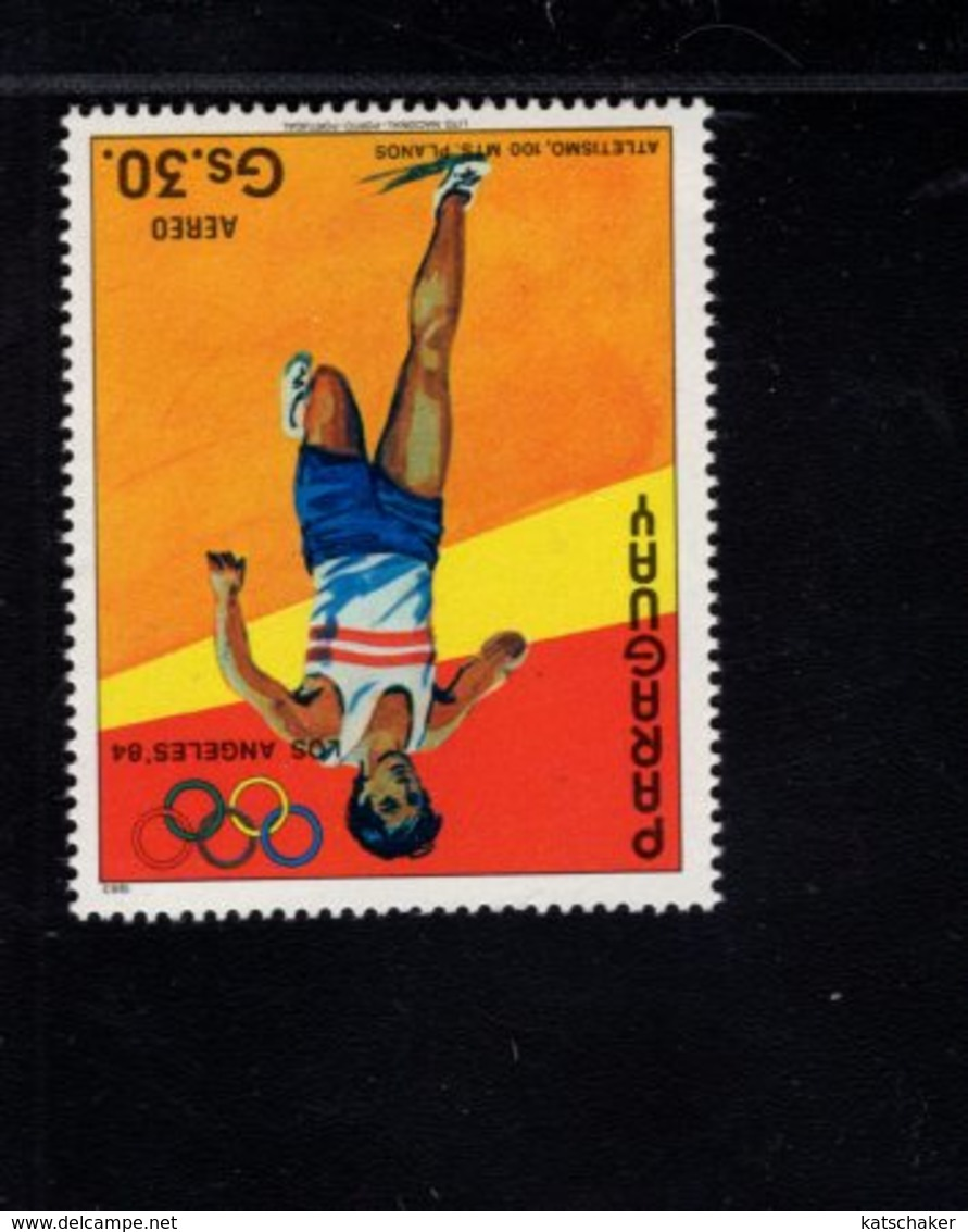 739761797  POSTFRIS MINT NEVER HINGED POSTFRISCH EINWANDFREI  SCOTT C552 SUMMER OLYMPICS LOS ANGELES - Paraguay