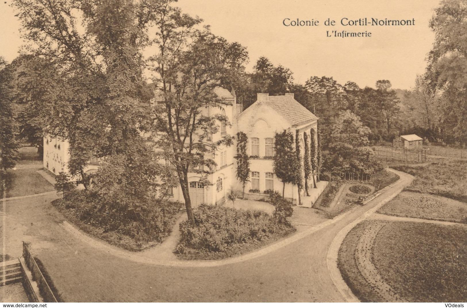 CPA - Belgique - Colonie De Cortil-Noirmont - L'infirmerie - Chastre