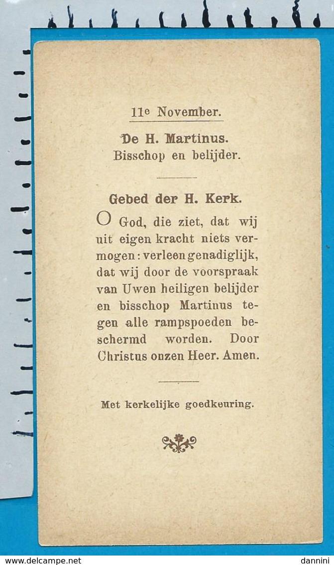 Holycard    B. Kûhlen   St. Martinus - Images Religieuses