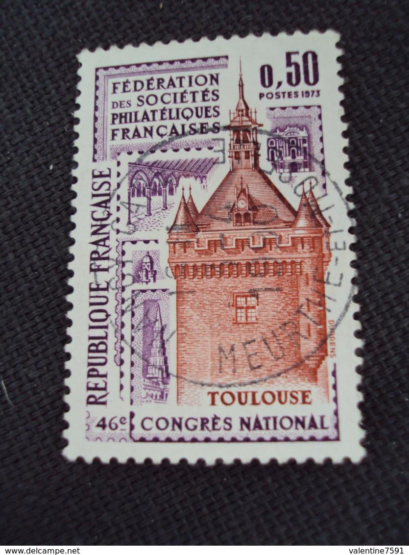 """70-79- Timbre Oblitéré N°  1763    """" Toulouse       """"   0.20 - France"""