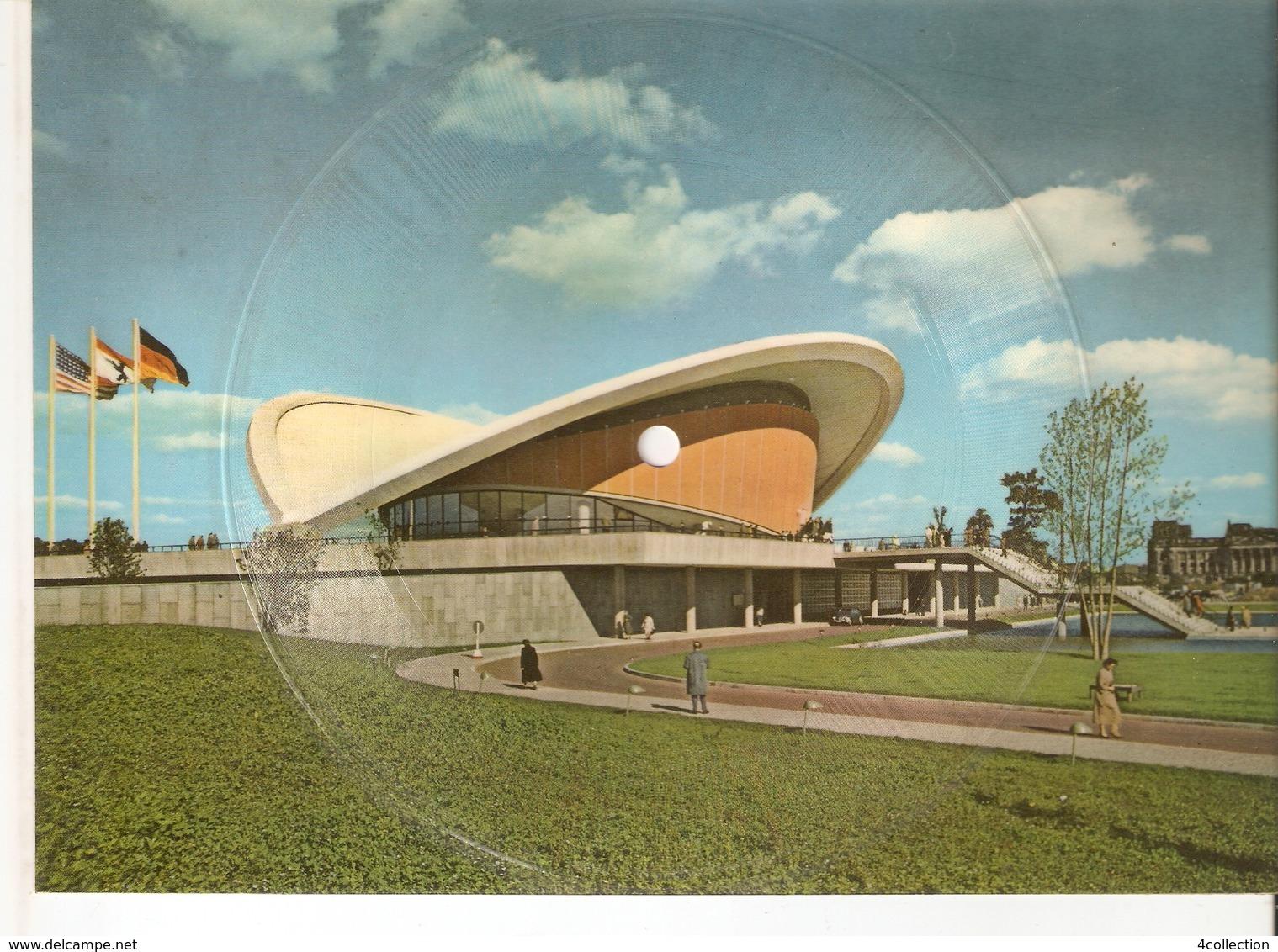 Musical 45rpm Record Postcard Schallbildkarte BERLIN Kongresshalle Endsley Warum Strahlen Heut' Nacht Die Sterne So Hell - Vinyl Records