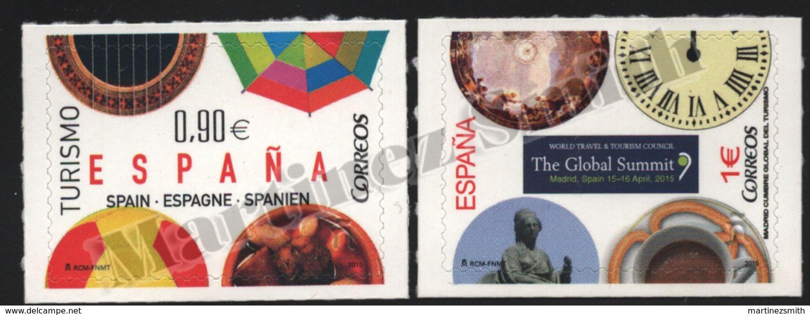 Spain - Espagne 2015 Yvert 4640-41, Tourism - MNH - 1931-Hoy: 2ª República - ... Juan Carlos I