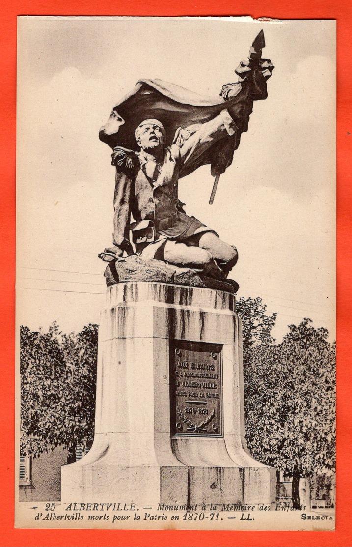 73 - ALBERTVILLE - MONUMENT AUX MORTS 1870-71 - Albertville