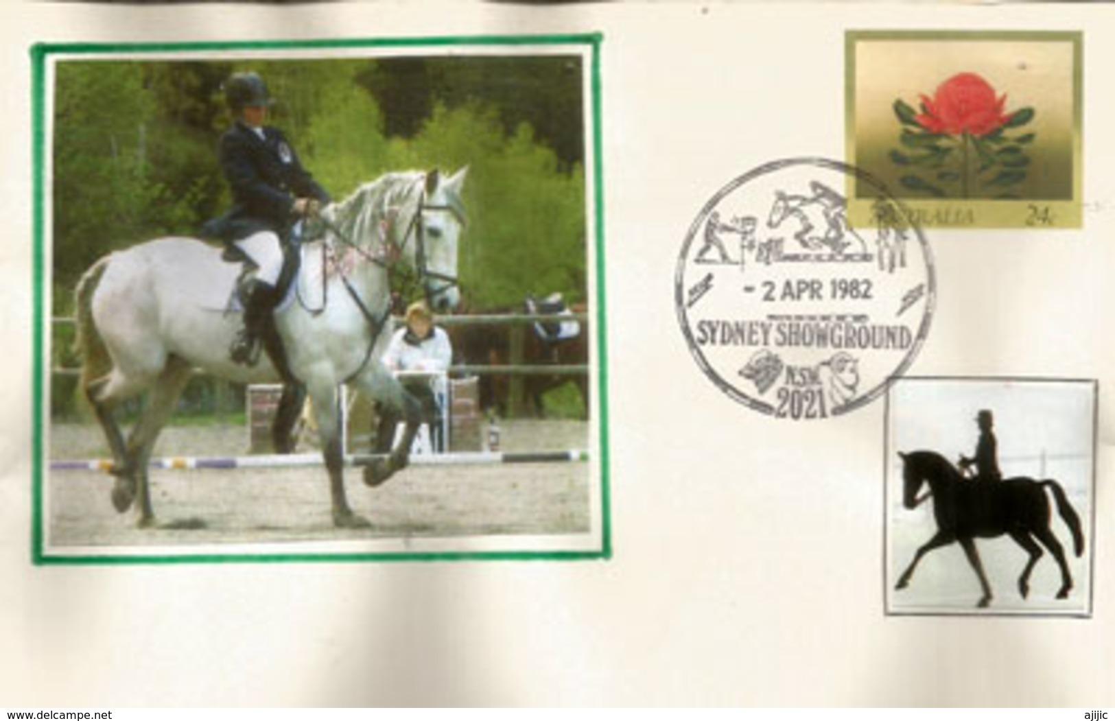Sydney Royal Easter Show, Belle Lettre De Sydney - Horses