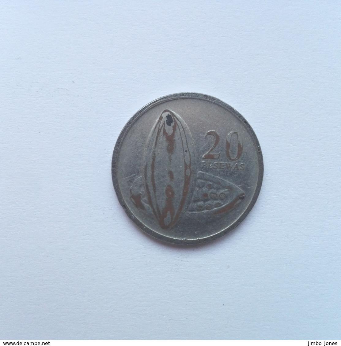 20 Pesewas Münze Aus Ghana Von 2007 (sehr Schön) - Ghana