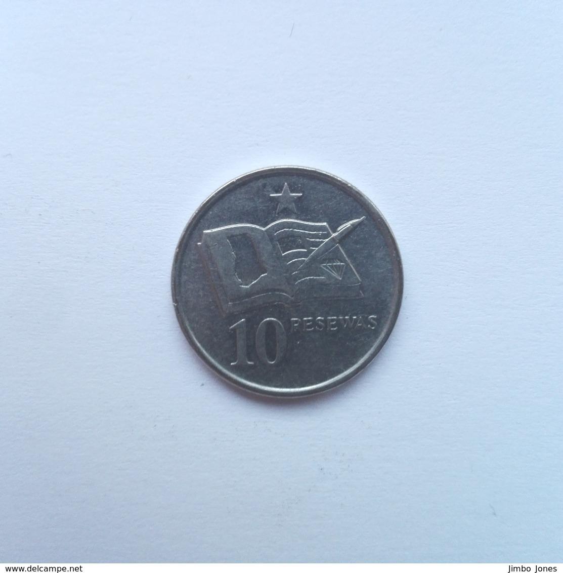 10 Pesewas Münze Aus Ghana Von 2007 (sehr Schön) - Ghana