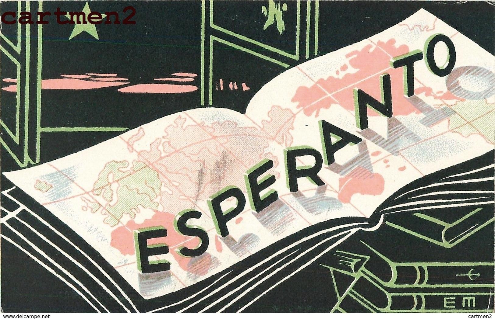 ESPERANTO CONGRES ESPERANTISTE MARSEILLE CACHET ILLUSTRATEUR - Esperanto