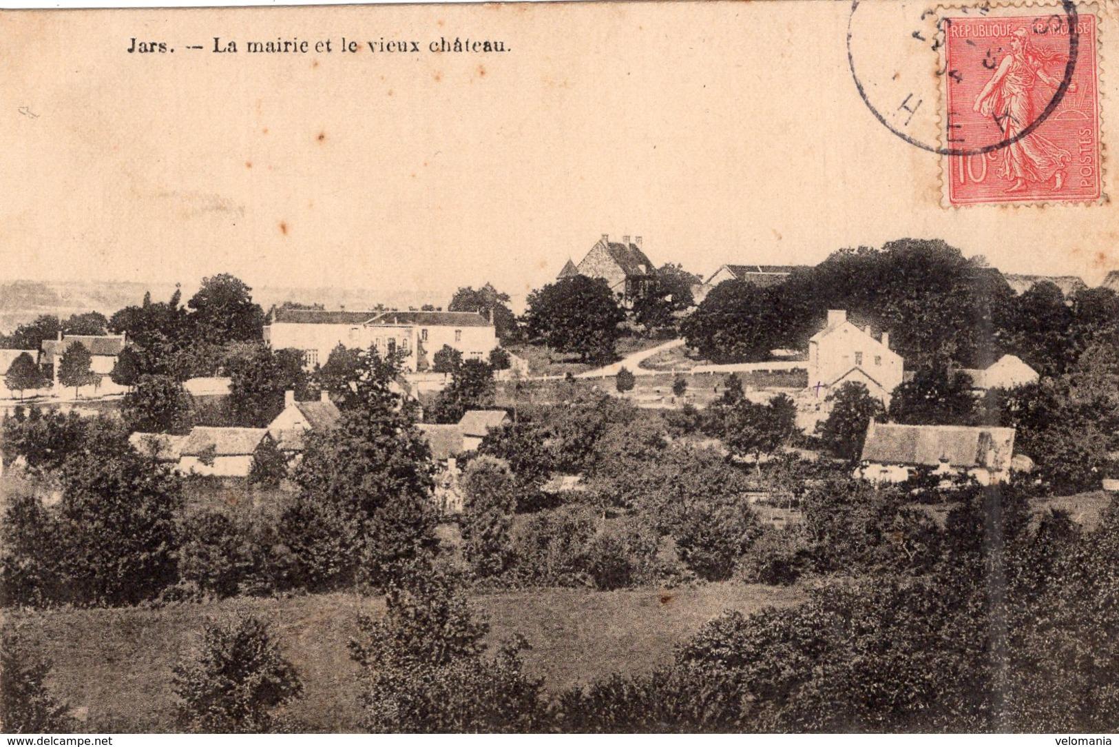 2524 Jars - La Mairie Et Le Vieux Château - Autres Communes