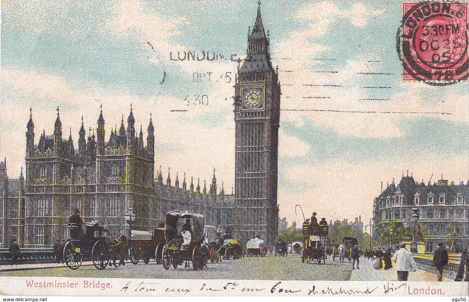 London (Angleterre) - Westminster Bridge - Other