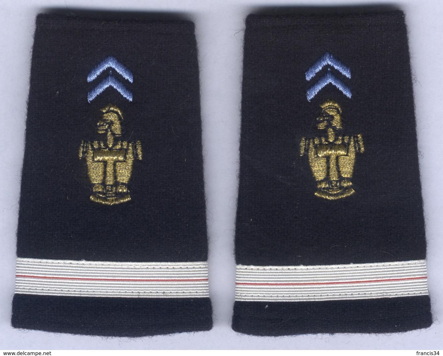 Manchons D'Epaulettes D'Adjudant Des Transmissions - Uniforms