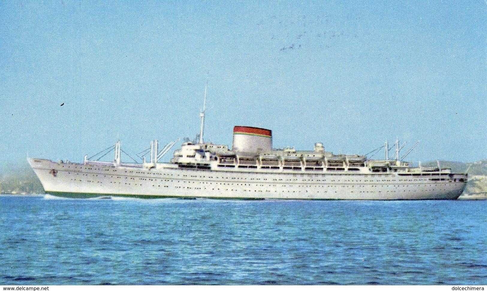 NAVE ITALIA-AGENZIA EL TURISTA - Barche