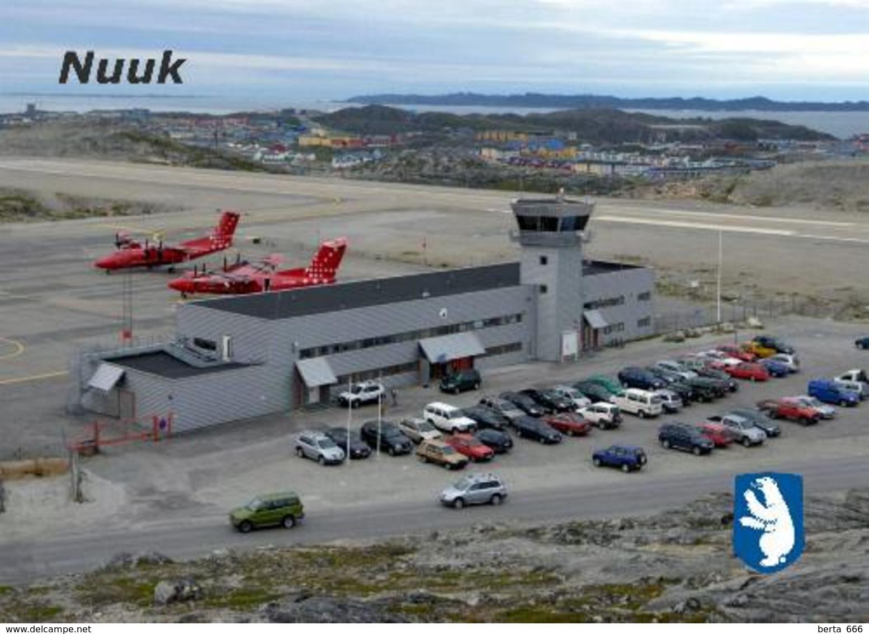 AK Grönland Flughafen Greenland Nuuk Airport New Postcard - Greenland