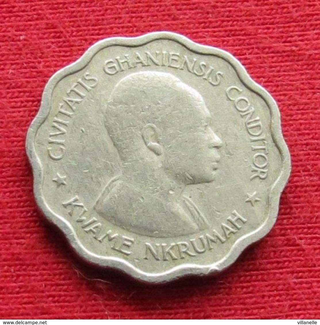 Ghana 3 Three Pence 1958 KM# 3 *V1 Gana - Ghana