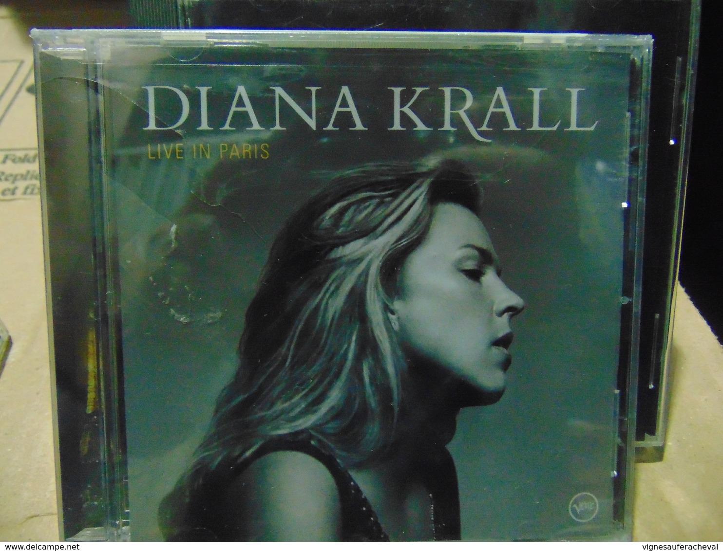 Diana Krall- Live In Paris (copie Neuve Scellée) - Jazz