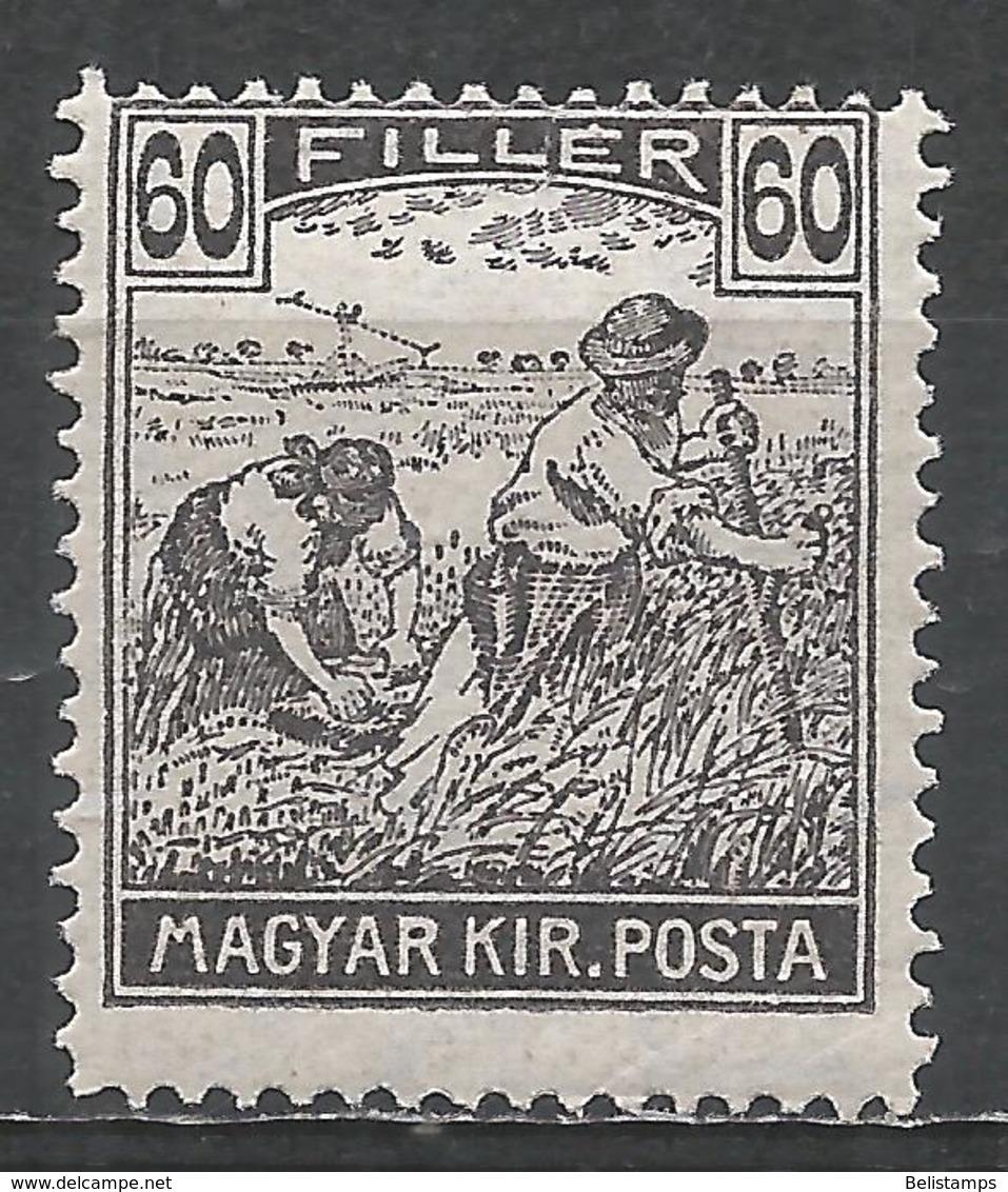 Hungary 1920. Scott #340 (U) Harvesting Wheat * - Hongrie
