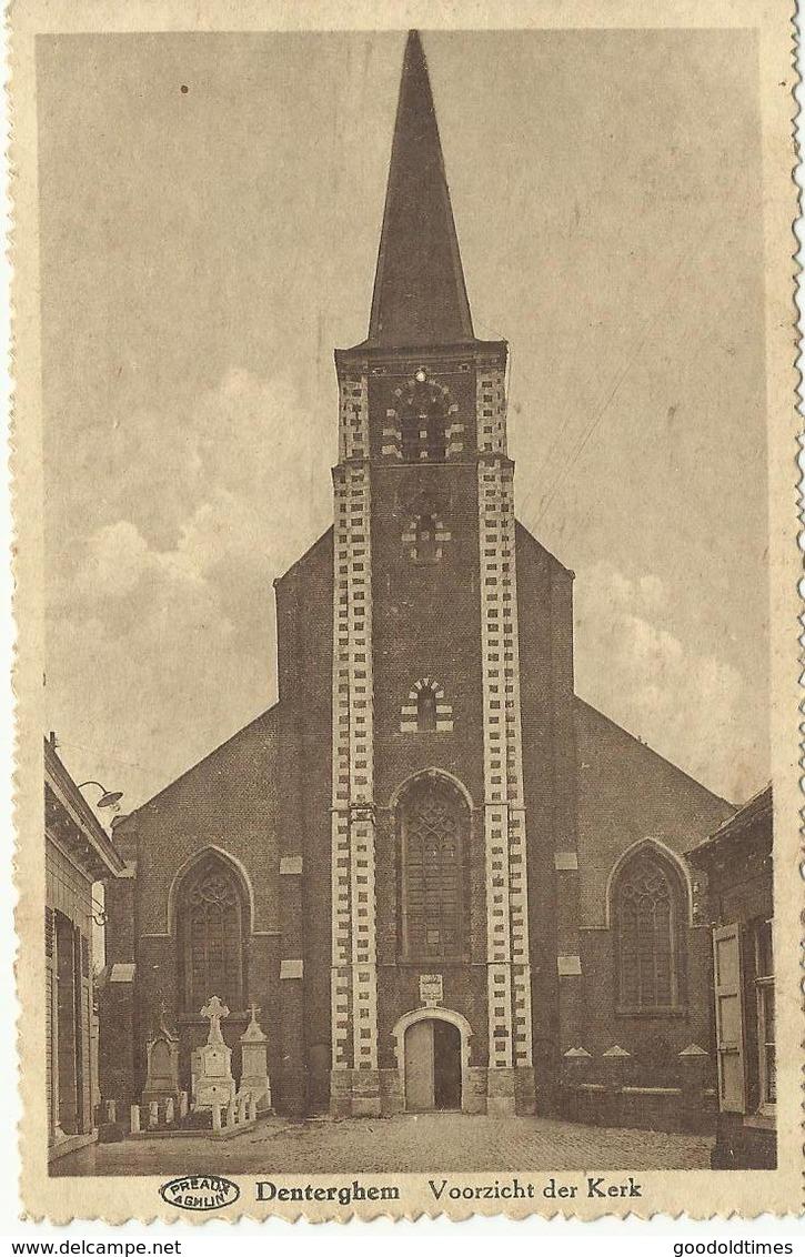 Denterghem Voorzicht Der Kerk   (961) - Dentergem