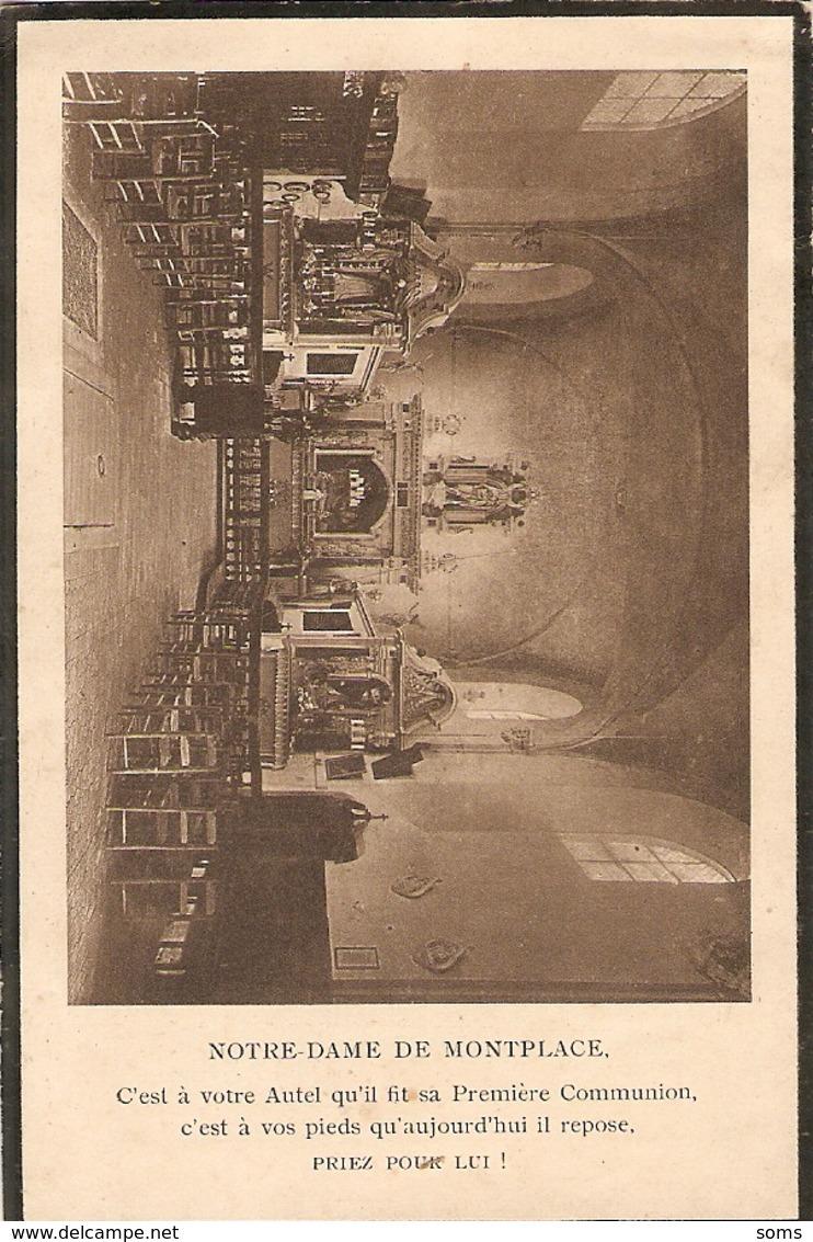 Faire-part De Décès De Jean De Chazoulière (1900-1926), Inhumé à Notre-Dame De Montplacé En Jarzé (Maine Et Loire) - Obituary Notices