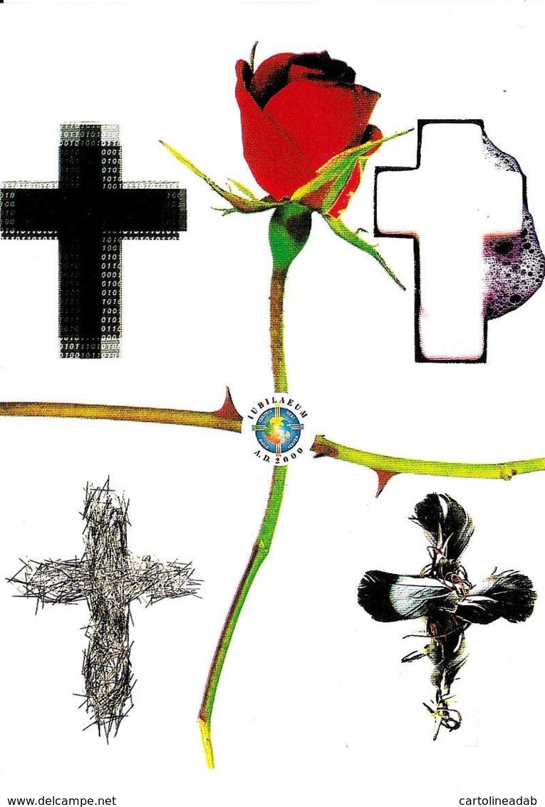 [DC0423] CPM - LE CROCI DEL TERZO MILLENIO - CARTOLINEA 423 - Non Viaggiata - Cristianesimo