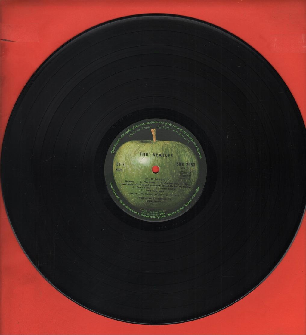 BEATLES - DOUBLE ALBUM BLANC AVEC POSTER ET PHOTOS - 1968 - LP - Discos De Vinilo