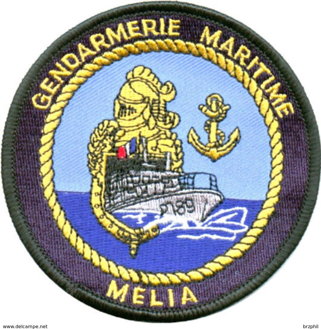 Gendarmerie Maritime - Patrouilleur MELIA Type II Avec Velcro - Police & Gendarmerie