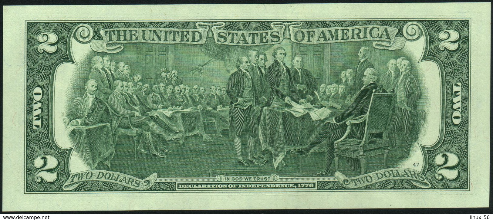 U.S.A. UNITED STATES Of AMERICA 2 Dollars 2013 UNC P.538 - Billetes De La Reserva Federal (1928-...)