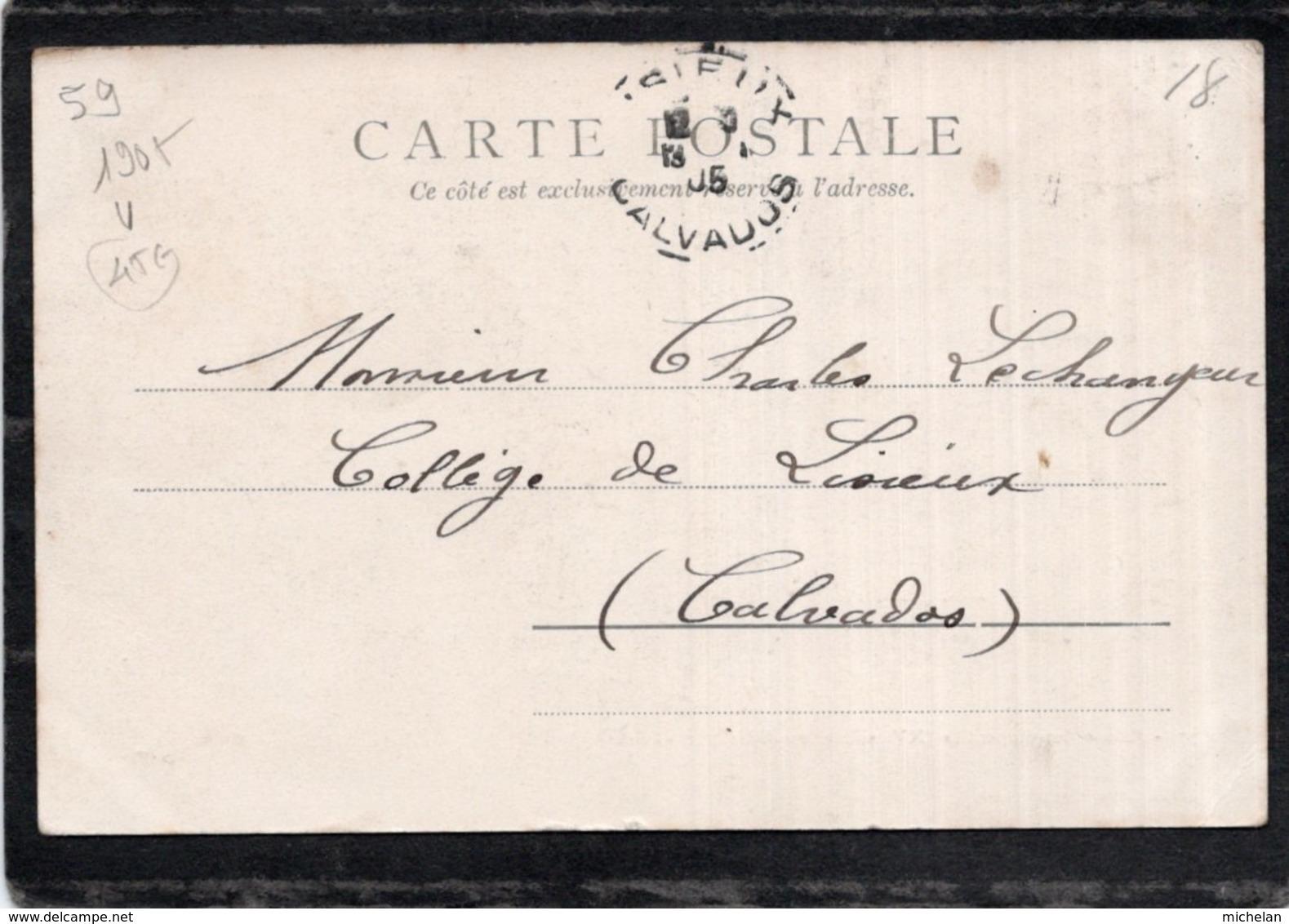 CPA   59  VALENCIENNES--ECLUSES DES REPENTIES ( XV E SIECLE ) MODIFIEE PAR VAUBAN---1905 - Valenciennes