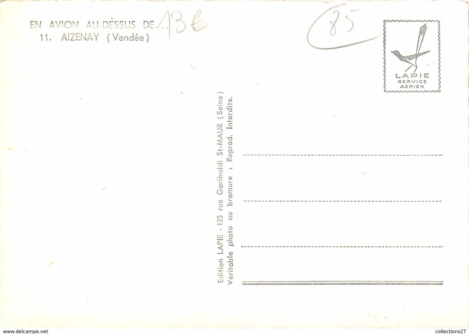 85-AIZENAY- VUE DU CIEL - Aizenay