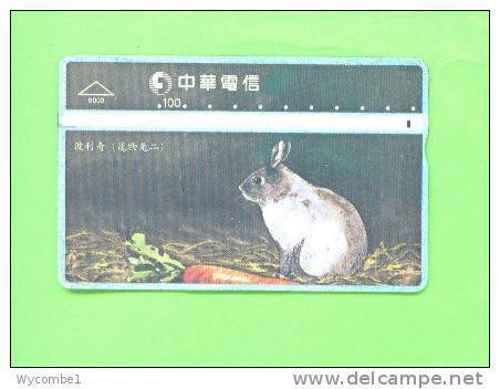 TAIWAN - Optical Phonecard/Rabbit - Rabbits