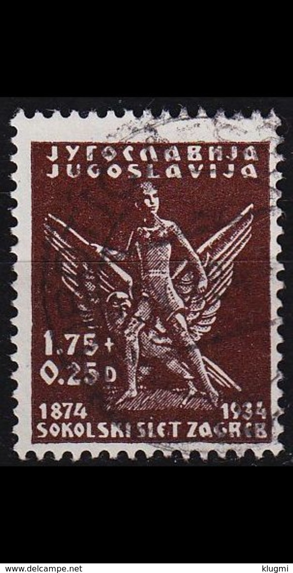 JUGOSLAVIA [1934] MiNr 0277 ( O/used ) - Gebraucht
