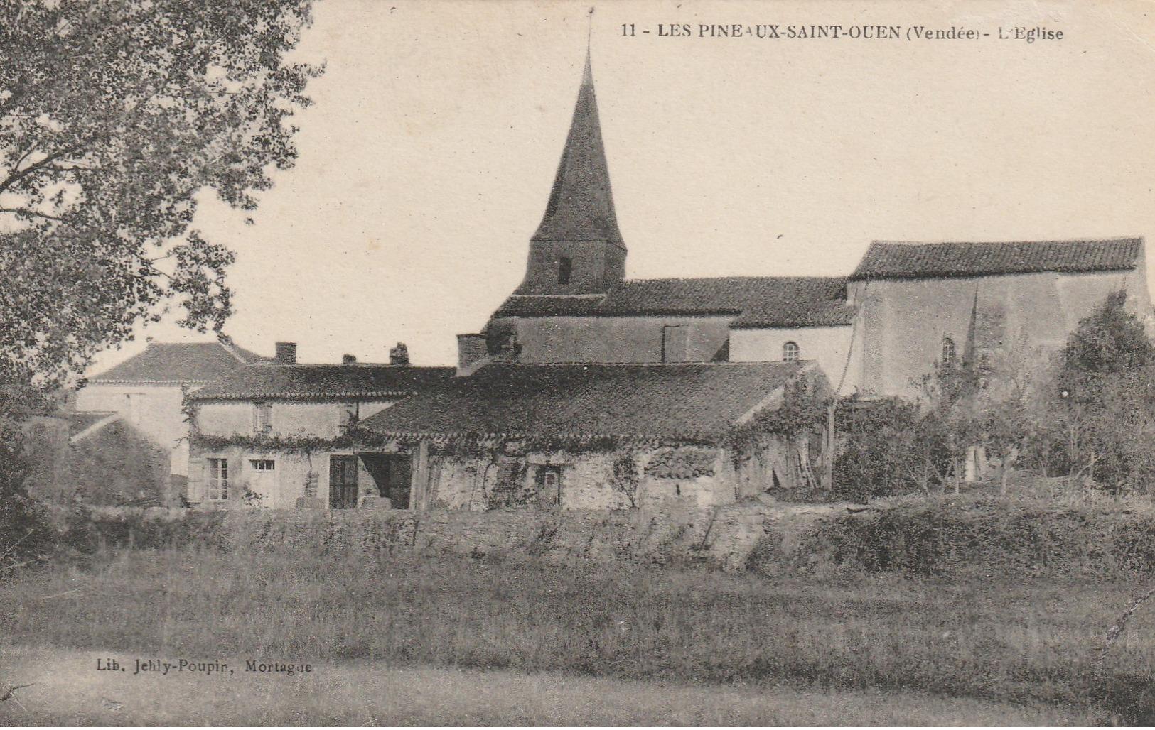 9-4------les Pineaux Saint Ouen L Eglise - Autres Communes