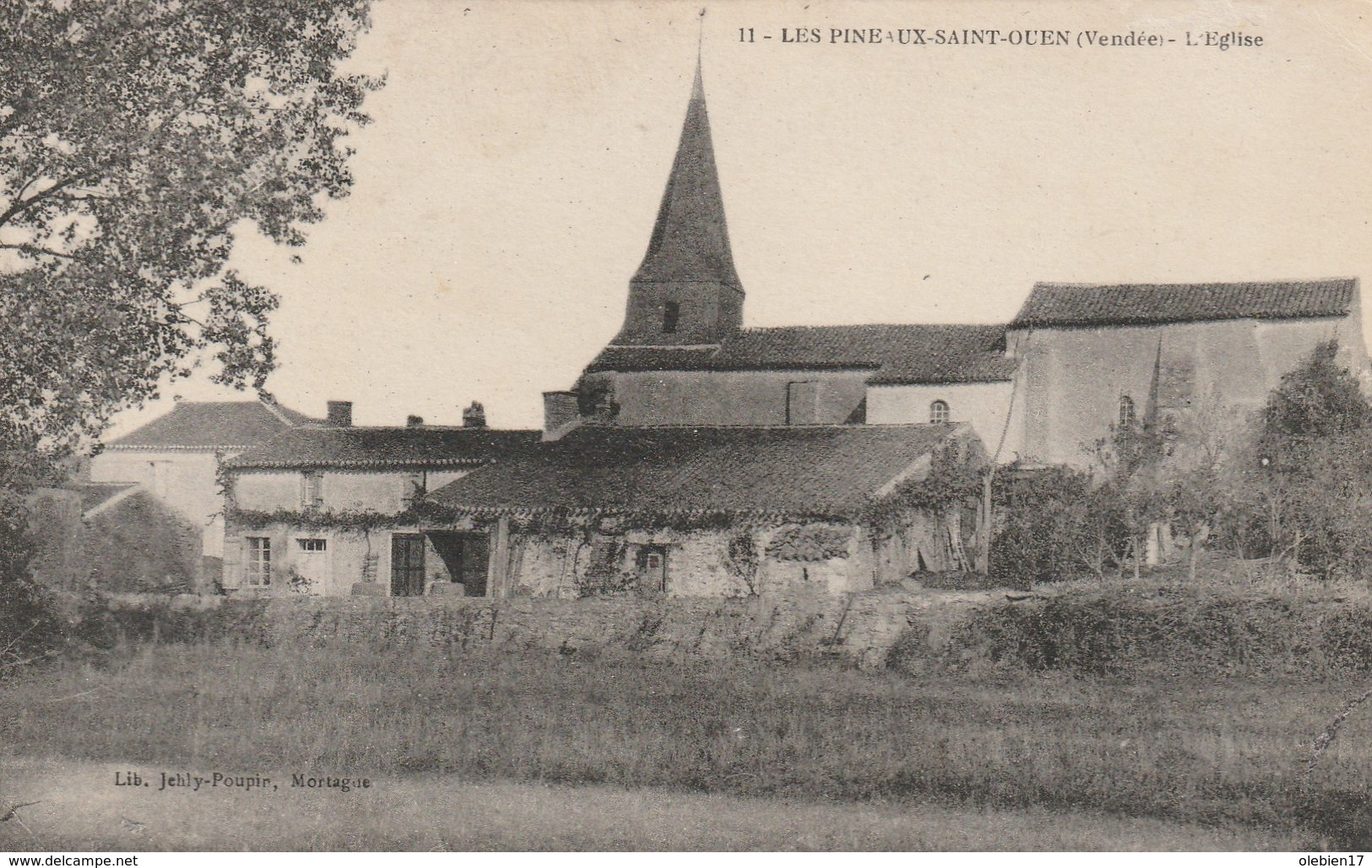 9-4------les Pineaux Saint Ouen L Eglise - France