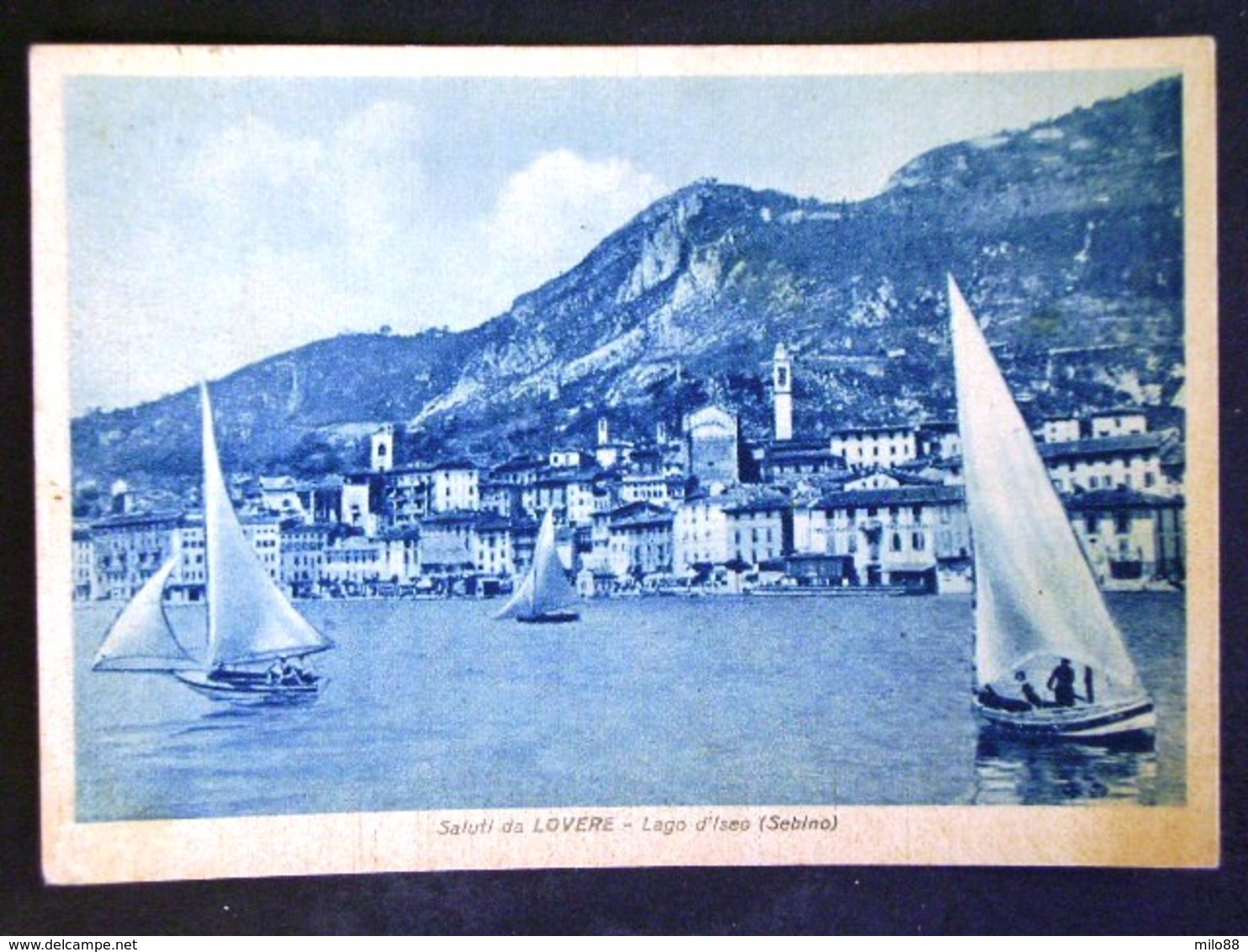 LOMBARDIA -BERGAMO -LOVERE ISEO -F.G. LOTTO N°199 - Bergamo