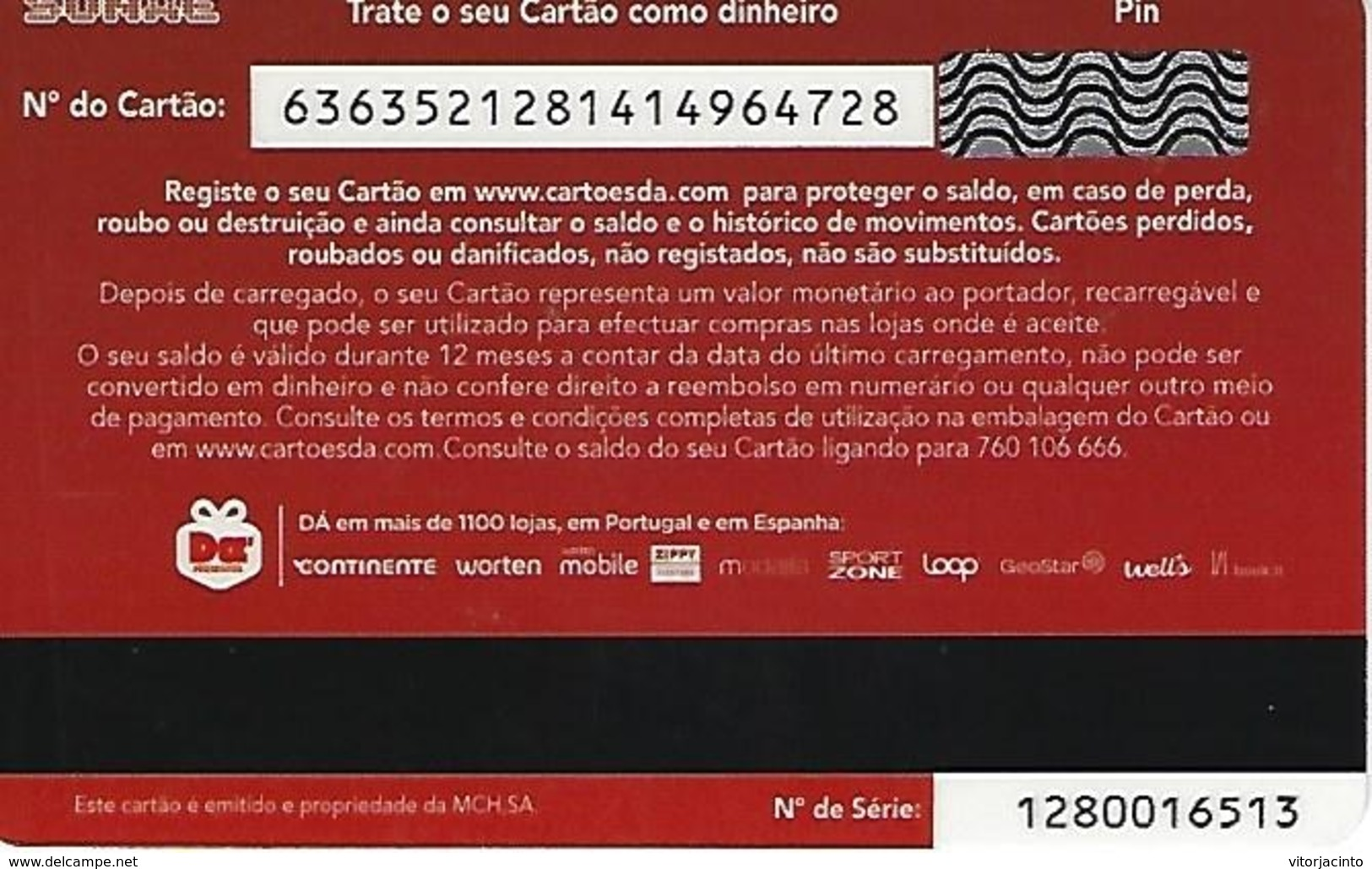 "PORTUGAL - SONAE Gift Card ""Mission Smile"" - Tarjetas De Regalo"