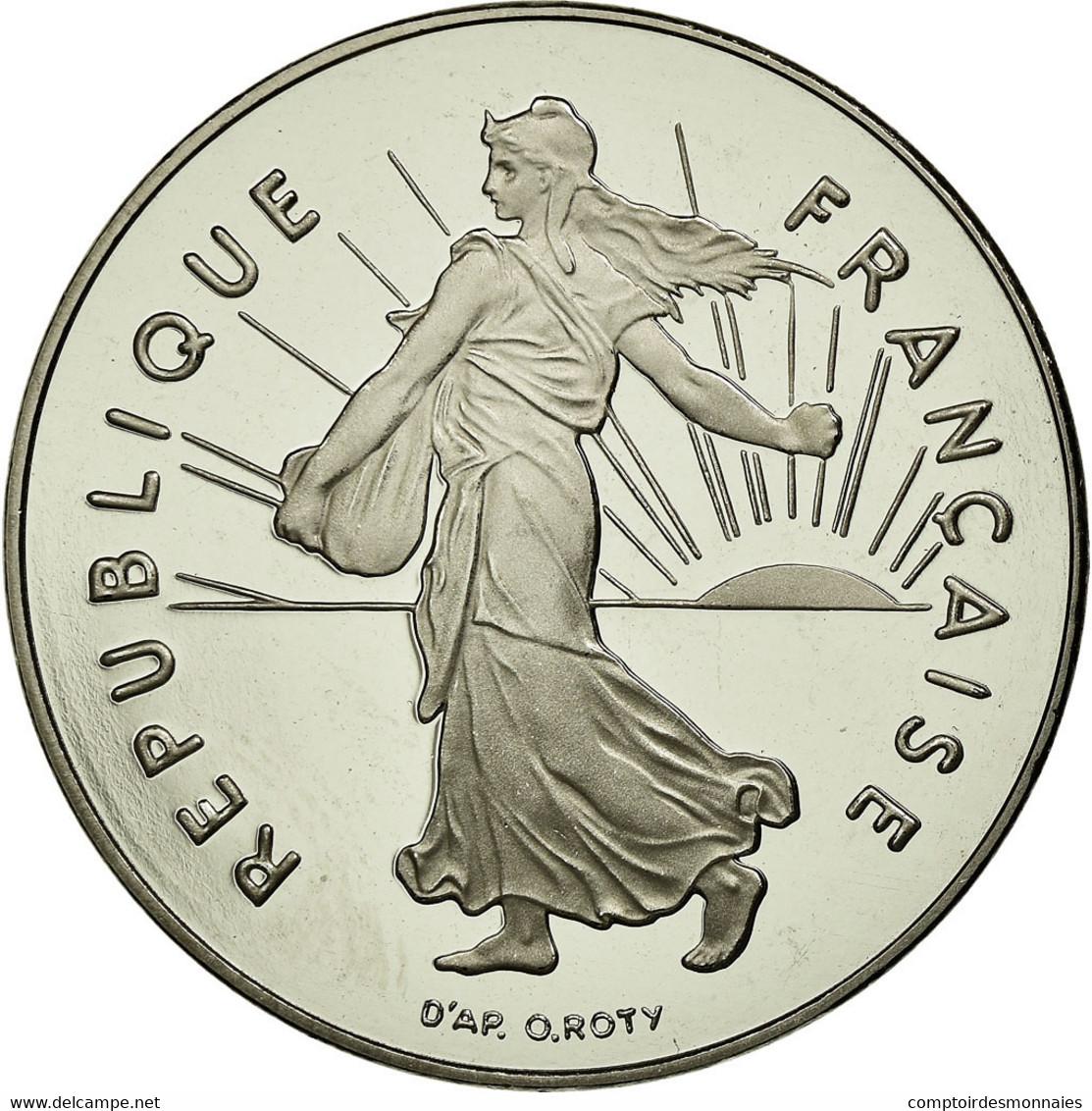 Monnaie, France, Semeuse, 5 Francs, 1999, Paris, Proof, FDC, Nickel Clad - France