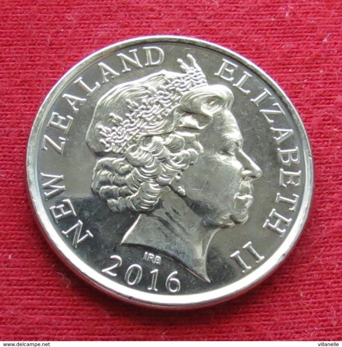 New Zealand 50 Cents 2016 Nova Zelandia Nuova Zelanda Nouvelle Zelande - New Zealand