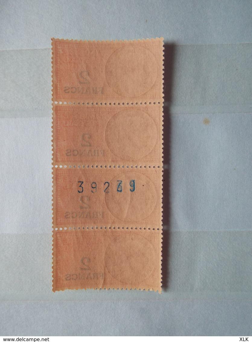France 1942/1943 - 230 Timbres Fiscaux Neufs Daté Avec N° Au Dos Et Autres - Prix De Départ 5€ - France