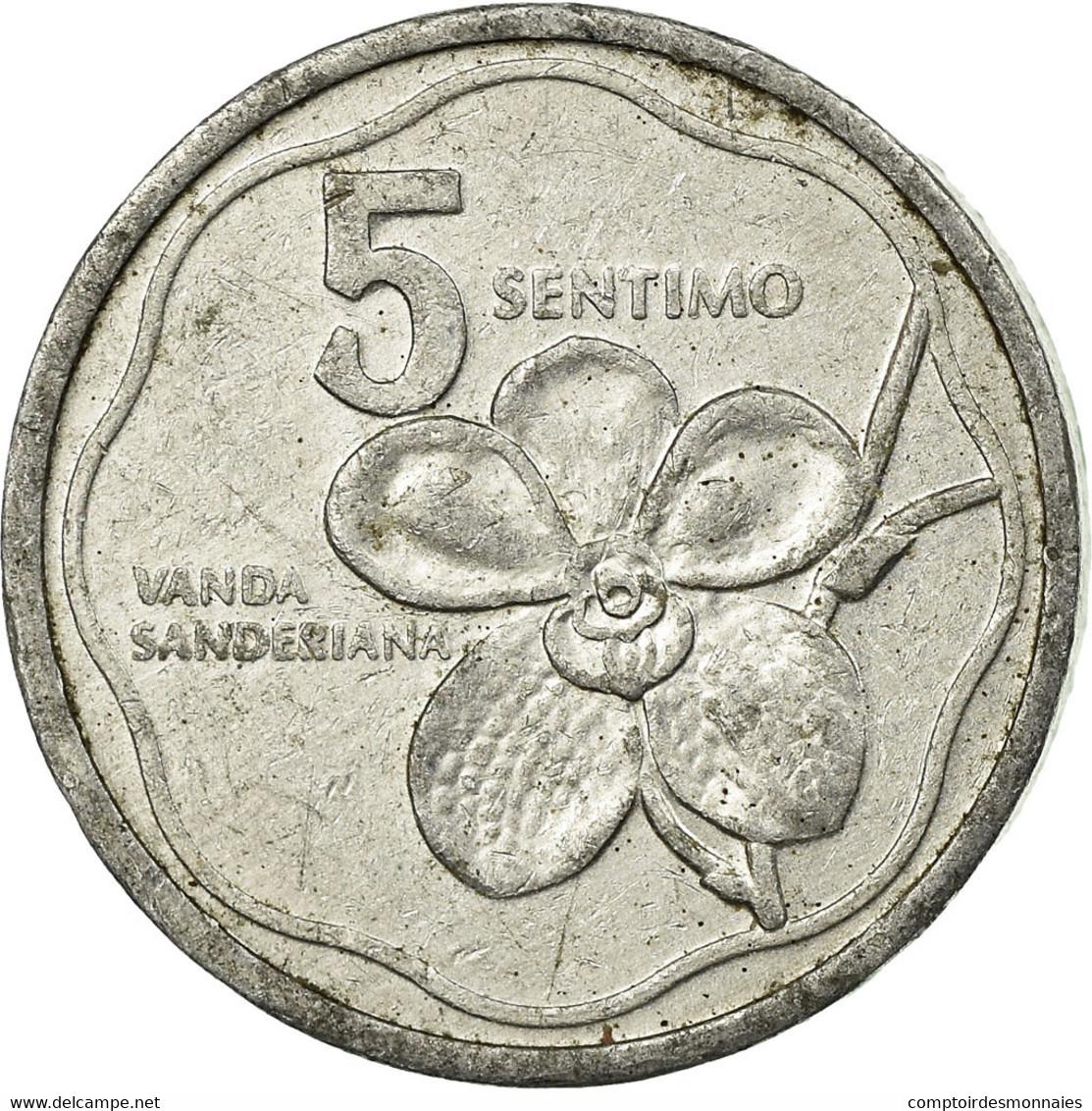 Monnaie, Philippines, 5 Sentimos, 1983, TTB, Aluminium, KM:239 - Philippines