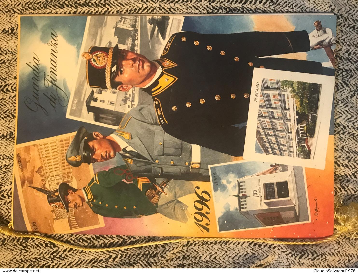 1996 Calendario Storico Guardia Di Finanza - Calendari