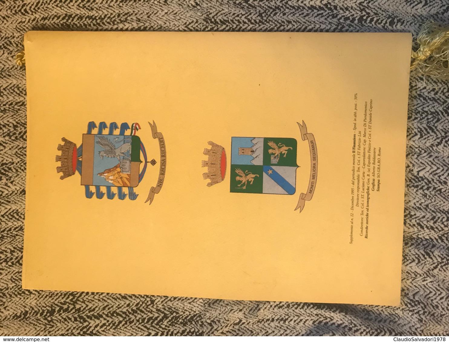 1996 Calendario Storico Guardia Di Finanza - Formato Piccolo : 1991-00