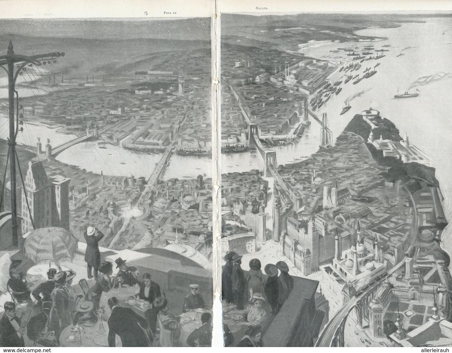 Si Constantinople était Ville Libre  /  Article , Pris D`un Magazine / 1912 - Bücher, Zeitschriften, Comics